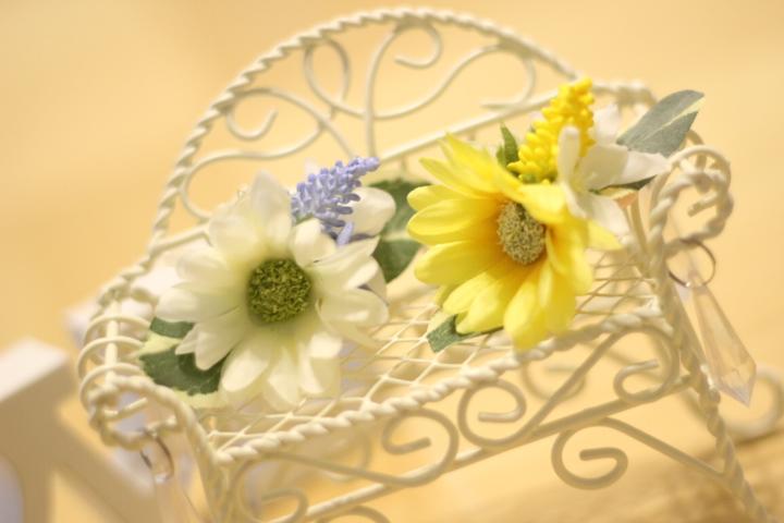 画像1: ラプンツェルflower♡バレッタB・2color