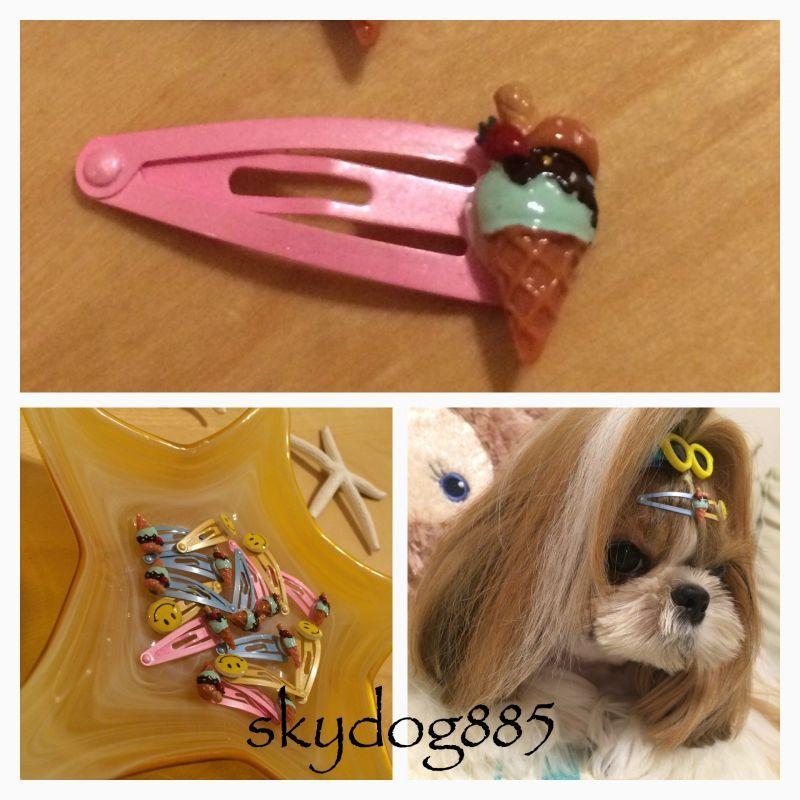 画像1: ミニミニぱっちんどめ♡アイス・ピンク
