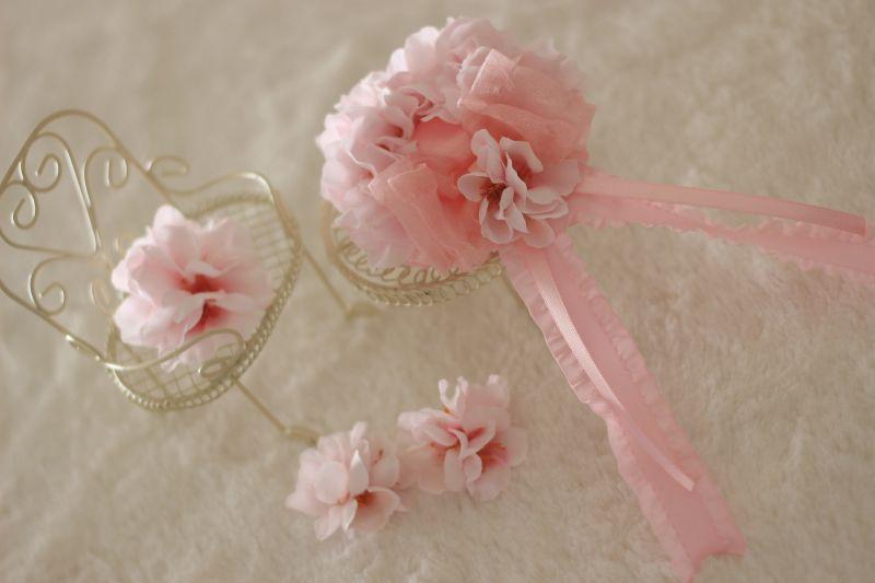 画像1: 桜の帽子♡(ヘッドドレス)
